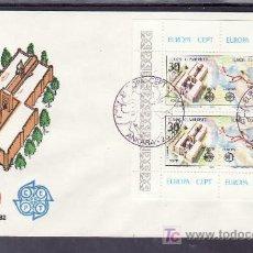Sellos: TURQUIA HB 23 PRIMER DIA, TEMA EUROPA 1982, HECHOS HISTORICOS, . Lote 11797916