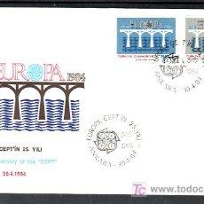 Sellos: TURQUIA 2425/6 PRIMER DIA, TEMA EUROPA 1984, 25 ANIVERSARIO CONFERENCIA EUROPEA, . Lote 10815672