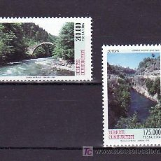 Sellos: TURQUIA 2911/2 SIN CHARNELA, TEMA EUROPA 1999, RESERVAS Y PARQUES NATURALES, . Lote 11858559