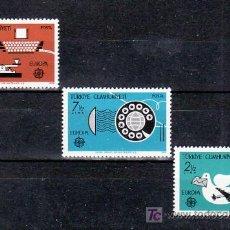 Sellos: TURQUIA 2246/8 SIN CHARNELA, TEMA EUROPA 1979, HISTORIA DE CORREOS, . Lote 11405576