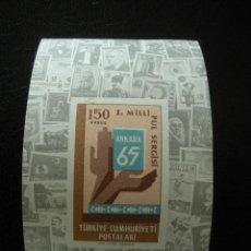 Sellos: TURQUIA HB 1965 IVERT 12 *** . Lote 13603193