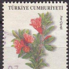 Sellos: TURQUIA 2003 SCOTT 2863 SELLO FLORA GRANADA NAR CICEGI USADO TURKIA . Lote 17749666