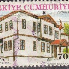 Sellos: TURQUIA 2004 SCOTT 2907 SELLO CASA ATATURK, MUSEO ERZURUM USADO TURKIA . Lote 17749704