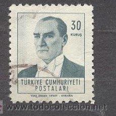 Sellos: TURQUIA, 1951. Lote 20872810