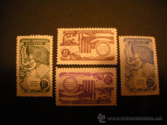 TURQUIA 1954 IVERT 1215/8 *** 5º ANIVERSARIO DEL CONSEJO DE EUROPA (Sellos - Extranjero - Europa - Turquía)
