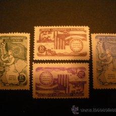 Sellos: TURQUIA 1954 IVERT 1215/8 *** 5º ANIVERSARIO DEL CONSEJO DE EUROPA. Lote 29297187