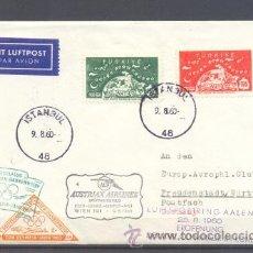 Sellos: 1960.- TURQUIA A ALEMANIA. Lote 36300795
