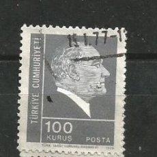 Sellos: TURQUÍA 1975. BÁSICO: KEMAL ATATURK 100 KURUS TURCO. Lote 262702525