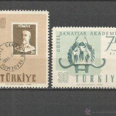 Sellos: TURQUIA YVERT NUM. 1324/1325 ** SERIE COMPLETA SIN FIJASELLOS. Lote 48914797