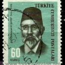 Sellos: TURQUIA 1965- YV 1765. Lote 160615144