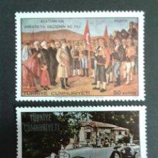 Sellos: SELLOS DE TURQUÍA. YVERT 1928/9. SERIE COMPLETA NUEVA SIN CHARNELA.. Lote 53625940