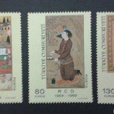 Sellos: SELLOS DE TURQUÍA. YVERT 1911/13. SERIE COMPLETA NUEVA SIN CHARNELA. . Lote 53625964