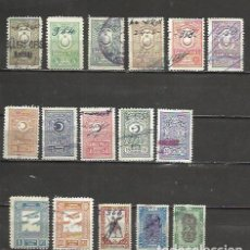 Sellos: Q639-LOTE ANTIGUOS Y RAROS SELLOS TURQUIA TURKEY REVENUE,FISCALES,TIMBRES,FILATELIA FISCAL,TIMBROLOG. Lote 73405477