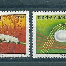 Sellos: TURQUIA Nº 2852/3 (MICHEL) AÑO 1989.. Lote 75732479