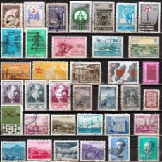 Sellos: TURQUIA. LOTE 50 SELLOS DIFERENTES. *.MH (17-523). Lote 78549689