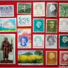 Selos: LOTE 18 SELLOS DE HOLANDA N271. Lote 91662047
