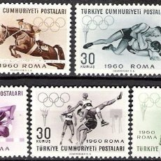 Sellos: TURQUIA 1960 - NUEVO. Lote 98617471