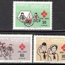 Sellos: TURQUIA 1962 - NUEVO. Lote 98617595