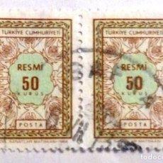 Sellos: SELLOS TURQUIA 1968. USADOS.. Lote 105749711