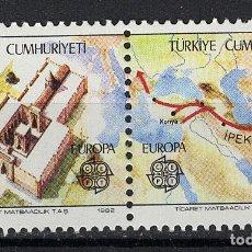 Sellos: TURQUIA / TURKEY 1982 ** - EUROPA CEPT. Lote 107428603