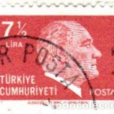 Sellos: 1980 - TURQUIA - KEMAL ATATURK - YVERT 2288. Lote 113550607