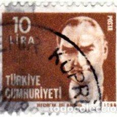 Sellos: 1980 - TURQUIA - KEMAL ATATURK - YVERT 2302. Lote 113550703
