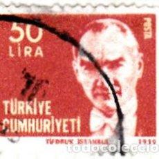 Sellos: 1980 - TURQUIA - KEMAL ATATURK - YVERT 2304. Lote 113550811