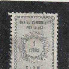Sellos: TURQUIA 1964 - MICHEL NRO. S87 - USADO. Lote 113964563
