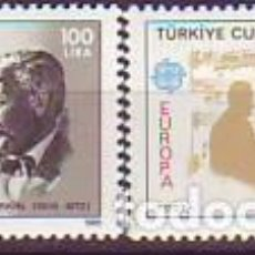 Sellos: TURQUIA. EUROPA CEPT. YVERT 2462/3. Lote 114724751