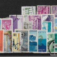 Sellos: TURQUIA LOTE DE SELLOS NUEVOS Y USADOS . Lote 119847923