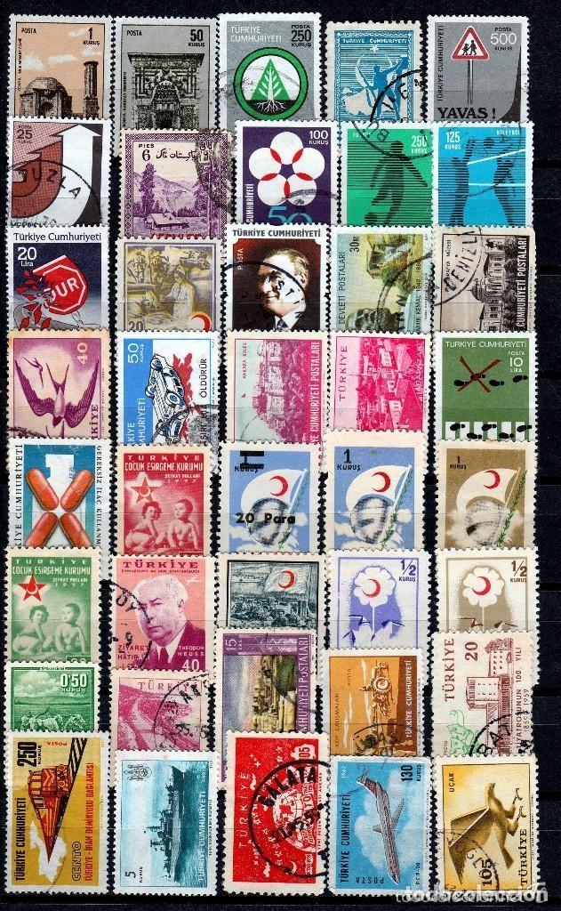 TURQUIA ( 16-213) LOTE 215 SELLOS DIFERENTES *./**. MNH/MH (Sellos - Extranjero - Europa - Turquía)