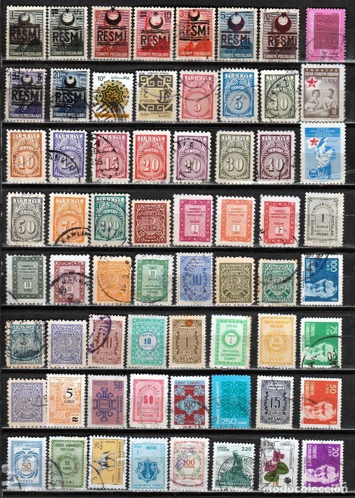 Sellos: TURQUIA ( 16-213) LOTE 215 SELLOS DIFERENTES *./**. MNH/MH - Foto 3 - 126379803