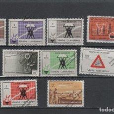 Sellos: TURQUIA Nº 1902 AL 1910 (**). Lote 126520499
