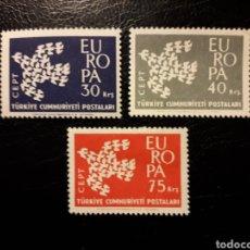 Sellos: TURQUÍA. YVERT 1579/81 SERIE COMPLETA NUEVA SIN CHARNELA. EUROPA CEPT.. Lote 149656917