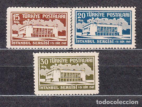 TURQUIA - CORREO 1949 YVERT 1093/6 ** MNH (Sellos - Extranjero - Europa - Turquía)