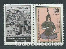 TURQUIA - CORREO 1964 YVERT 1695/6 ** MNH (Sellos - Extranjero - Europa - Turquía)