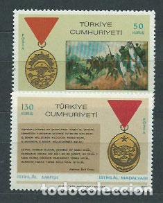 TURQUIA - CORREO 1968 YVERT 1875/6 ** MNH (Sellos - Extranjero - Europa - Turquía)