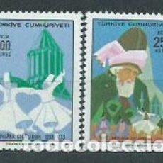 Sellos: TURQUIA - CORREO 1973 YVERT 2078/9 ** MNH. Lote 159072374