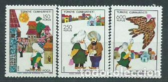 TURQUIA - CORREO 1976 YVERT 2164/6 ** MNH (Sellos - Extranjero - Europa - Turquía)