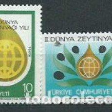 Sellos: TURQUIA - CORREO 1979 YVERT 2275/6 ** MNH. Lote 159072578