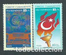 TURQUIA - CORREO 2005 YVERT 3165/6 ** MNH (Sellos - Extranjero - Europa - Turquía)