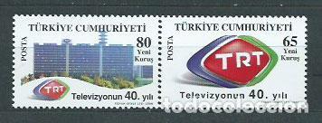 TURQUIA - CORREO 2008 YVERT 3335/6 ** MNH (Sellos - Extranjero - Europa - Turquía)
