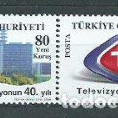 Sellos: TURQUIA - CORREO 2008 YVERT 3335/6 ** MNH. Lote 159074562