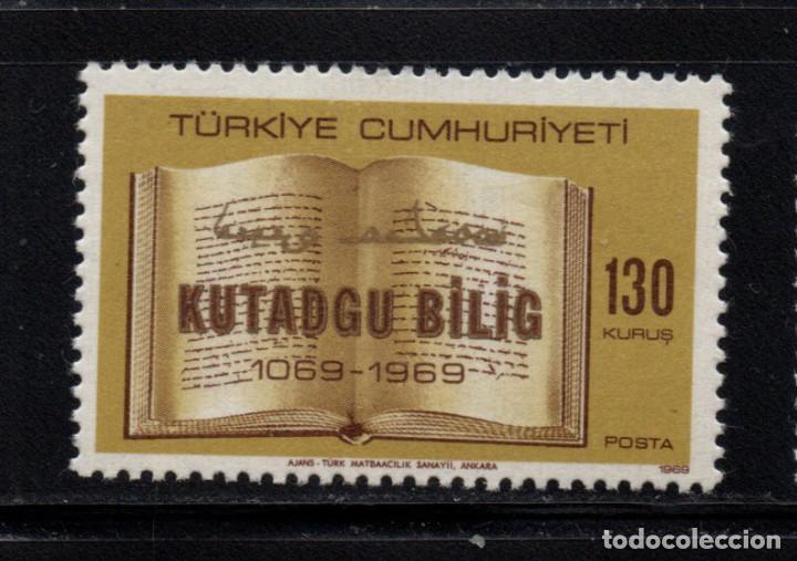 TURQUIA 1927** - AÑO 1969 - 900º ANIVERSARIO DEL LIBRO KUTADGU BILIG (Sellos - Extranjero - Europa - Turquía)