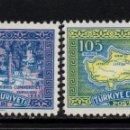 Sellos: TURQUIA 1558/59** - AÑO 1960 - PROCLAMACION DE LA REPUBLICA CHIPRIOTA. Lote 160148698