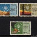 Sellos: TURQUIA 1933/35** - AÑO 1970 - AÑO EUROPEO DE CONSERVACION DE LA NATURALEZA. Lote 160990442