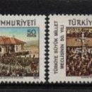 Sellos: TURQUIA 1946/47** - AÑO 1970 - 50º ANIVERSARIO DE LA GRAN ASAMBLEA NACIONAL. Lote 160990654