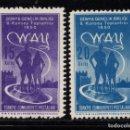 Sellos: TURQUIA 1100/01** - AÑO 1950 - CONGRESO INTERNACIONAL DE LA JUVENTUD. Lote 160992842