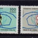 Sellos: TURQUIA 1978/79** - AÑO 1971 - AÑO INTERNACIONAL CONTRA EL RACISMO. Lote 165076550
