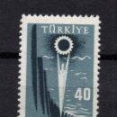 Sellos: TURQUIA 1410** - AÑO 1958 - EXPOSICION NACIONAL DE INDUSTRIA. Lote 165640058